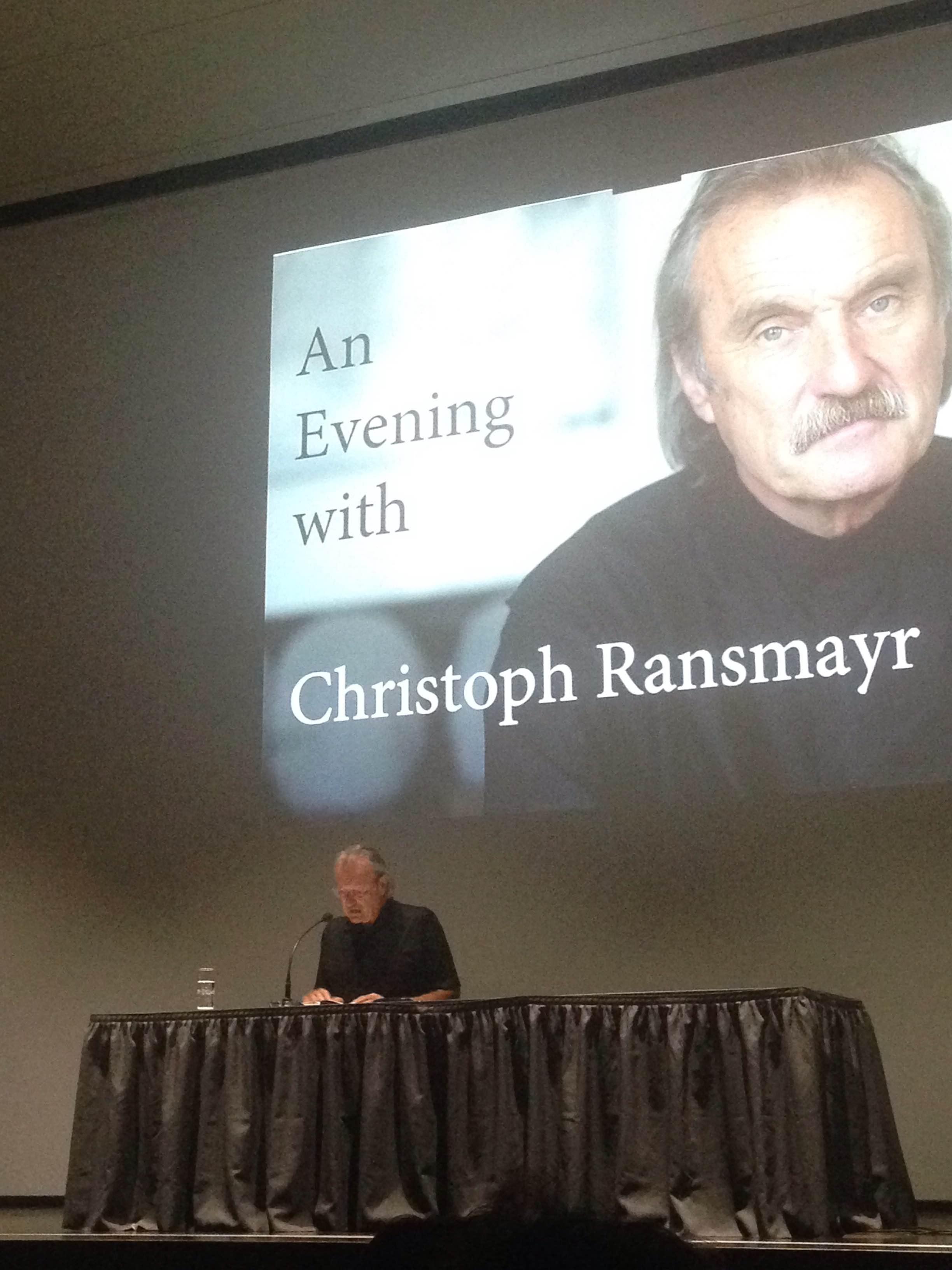 Christoph Ransmayr (foto: Jelena Spreicer)
