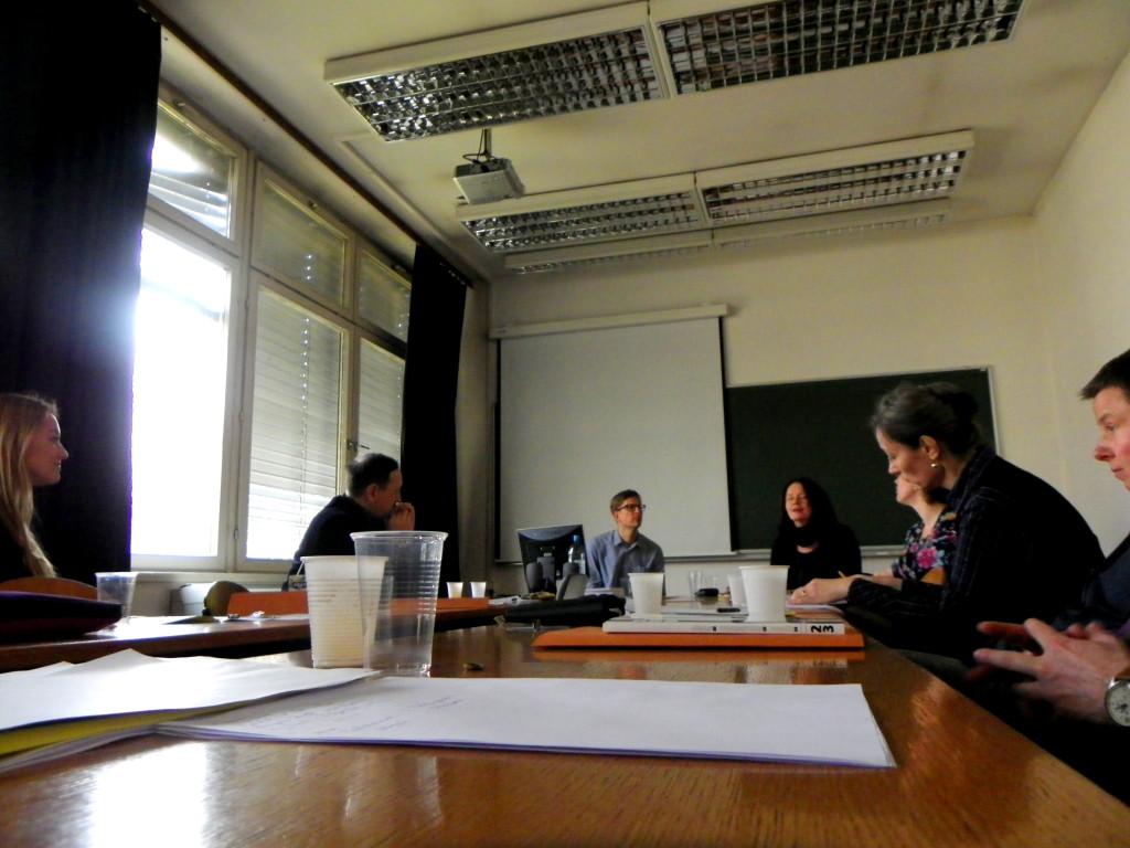 Diskusija nakon izlaganja Anne Babke (Diskussion nach dem Vortrag von Anna Babka)